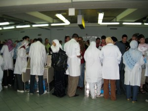 Health Checkpoint - Cairo Airport