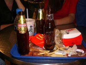 Big Mac n' beer