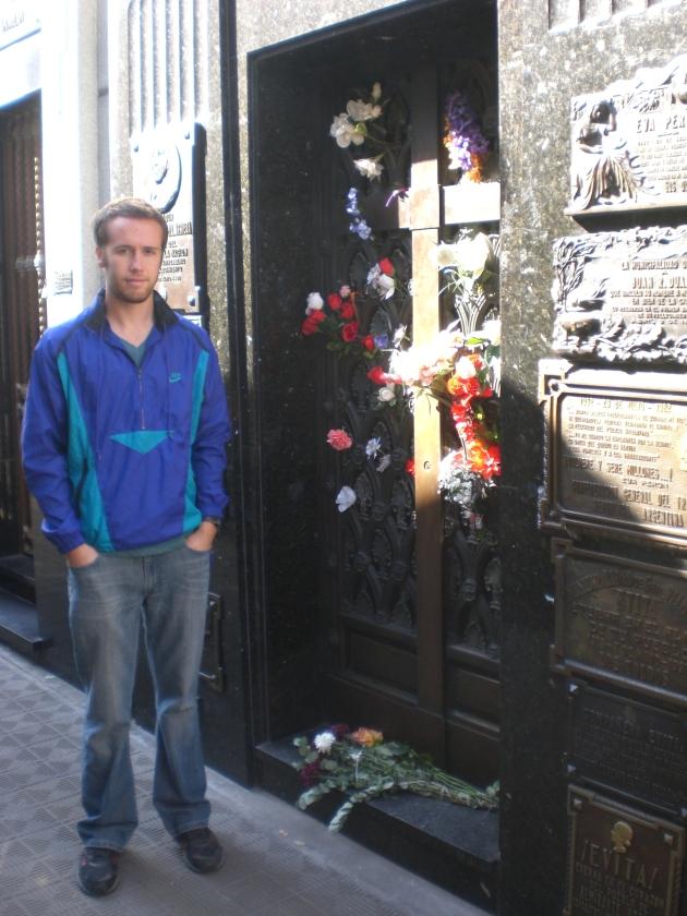 Evita in Recoleta Cemetary - Buenos Aires